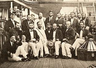 Challenger crew, 1874