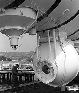 The pressure sphere of the Trieste