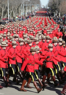 More Mounties