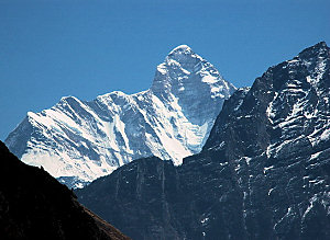The peak of Nanda Devi
